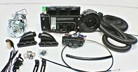 NEW! HOT ROD AIR CONDITIONING KIT UNDER DASH INTEGRATED STYLE COMPLETE KIT
