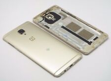 OnePlus 3 A3003 Akkudeckel Gehäuse Backcover Cover Housing Kamera Glas Gold