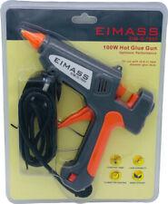 Eimass ® pistola eléctrica de pegamento caliente, 100W enchufe de Reino Unido, libre de 10 (11x200mm) de pegamento pega