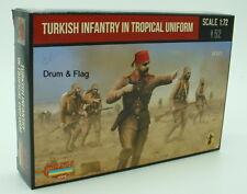 STRELETS Set M 122 la fanteria turca in uniforme tropicale WWI 1/72 TURCHI SCALA WW1