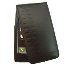GENUINE VIZOR STYLISH LEATHER FLIP CASE COVER POUCH w BELT CLIP for iPod TOUCH