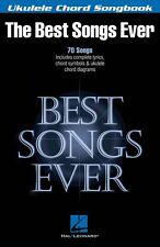 Best Songs Ever Sheet Music Ukulele Chord Songbook Ukulele Book NEW 000117050