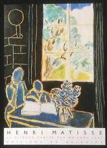 Henri Matisse Le silence habite des maisons 1947  poster