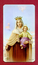 SANTINO NostrSignora del Carmelo   IMAGE PIEUSE - HOLY CARD-  Heiligenbild
