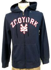 Zoo York Basic Hooded Zip Sweat Skateboarding/Longboarding Farbe Navy Größe S