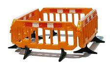 TD19 4 x  3D printed road work barriers OO scale model railway scenics