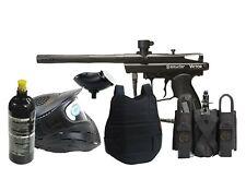 Classic Paintball Spyder Gun Set 20oz tank, goggles, loader, harness, chest pad