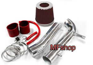 RED For 1998-2002 Honda Accord 3.0L V6 LX EX Cold Air Intake System Kit + Filter
