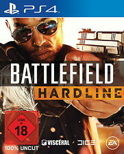 *** Battlefield Hardline *** PS4 *** Komplett mit OVP *** NEUwertig!!!