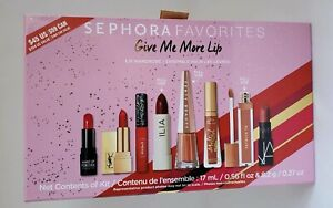 Sephora Favorites Give Me More Lip Lip Wardrobe Ilia Fenty Patrick Ta YSL Nars +