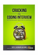 Cracking the Coding Interview: 189 Programming Questions and So... Free Shipping