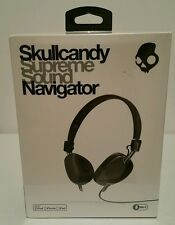 Skullcandy Supreme Sound Navigator Black On The Ear Headsets