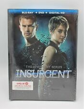 New Sealed The Divergent Series Insurgent on Blu-Ray DVD + Digital HD