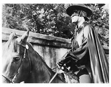 THE SIGN OF ZORRO great scene still with GUY WILLIAMS on horse - (d979)