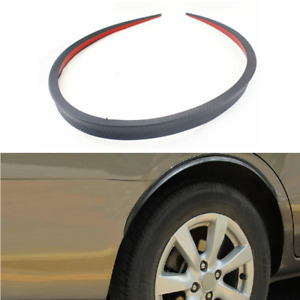 1.2M Racing Style Spoiler Wing Lip For Car Rear Roof Trunk Molding Trim Sticker