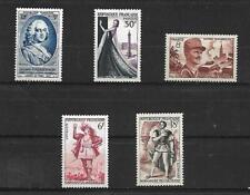 TIMBRE DE FRANCE. 1953. N°940-941-942-943-944  **