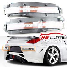 For 03-09 Nissan 350Z All-In-One LED Turn Signal, Backup, Brake Light Clear Lens