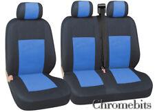 Renault Trafic Master Coprisedili 2+1 Blu Tessuto Nero