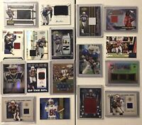 New England Patriots Auto Game-Used Jersey Lot 🔥 (17) SP #ed RPA Relic 🔥 Pats