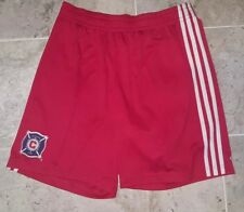 SWEET ADIDAS CLIMALITE CHICAGO FIRE SHORTS MEN'S SIZE LARGE