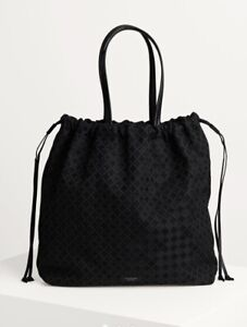 New By Malene Birger Tote Carryall Tote Bag. Black. Q68965011. NWT. RRP £155