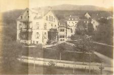 Allemagne, Badenweiler, Pension Saupe Vintage albumen print, mounted  Tira