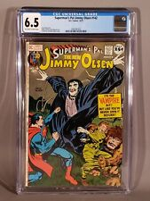 Superman's Pal Jimmy Olsen #142 CGC 6.5 FN+ OW to W Pgs Jack Kirby Neal Adams C