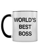 Mug World's Best Boss Two-Tone Black