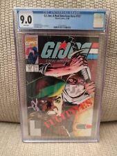 G. I. Joe #107, CGC 9.0, 1990, Marvel Comics, White Pages