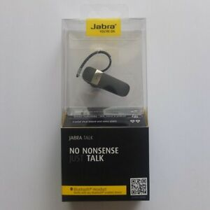 new factory-sealed package JABRA Talk Bluetooth headset—store price $29.99 + tax