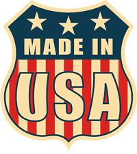 "Made In USA Flag Police Emblem Badge Car Bumper Sticker Decal 5"" x 5"""