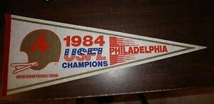 PHILADELPHIA STARS 1984 USFL CHAMPS FULL-SIZED PENNANT -- VERY NICE