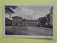Ansichtskarten aus Hamburg mit dem Thema Eisenbahn & Bahnhof
