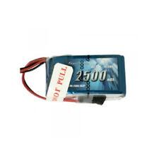 Gens Ace 2500mAh 7.4V Hump RX 2S 2P Lipo Battery Pack w/ JR-3P Plug