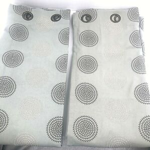Sage Panel Classic Pattern Boho Curtains 2 Panels Grommet Lined  Beige Taupe