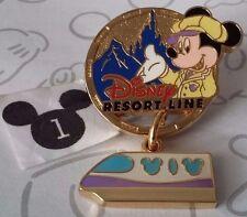 Disney Resort Line Mickey Mouse Monorail Dangle Tdr Tokyo Disneyland Japan Pin