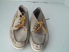 Banana Republic Mens 12 M Beige Suede leather  Shoes