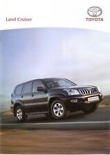 Prospekt / Brochure Toyota Land Cruiser 10/2007