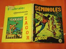 ZAGOR ZENITH- ORIGINALE- N°94 b - LIRE 200- (ZAGOR gigante N°43)- DEL 1969- raro