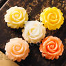 3/5pcs Resin Flatback Cabochons Cameo Flower Embellishments 29mm MGRB0576