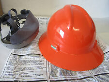 New MSA V-Gard Fire Fighter Costume / Construction Worker Hard Hat Helmet