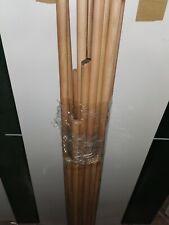 1150 mm Rundholz Rundstab Holz Basteln günstig 20mm L 10St  Buche Rundstäbe D