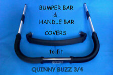 CUSTOM MADE BUMPER BAR & HANDLE BAR COVERS to fit QUINNY BUZZ 3 4 My4 iCANDY