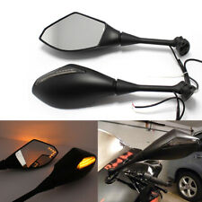 Motorcycle Mirrors with LED Turn Signals for 2003-2008 Suzuki GSXR750 GSXR600 US