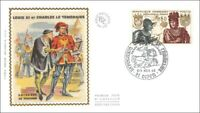 EXPOSITION CHARLES LE TEMERAIRE - Grand Duc d'Occident  - DIJON - 1969 - FDC