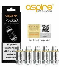 Aspire PockeX Replacement Coil 0.6Ohm (5 Pack) Pocket X AIO Coils