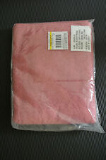 Ll Bean Deep Rose Bath Towel 29 x 54 New Cotton curved Sunwashed 0Dqr343 Pink