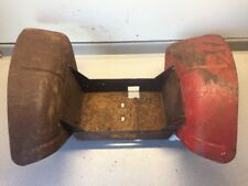 Wheel Horse 604 Round Hood Fenders/Tool Box Assembly-USED
