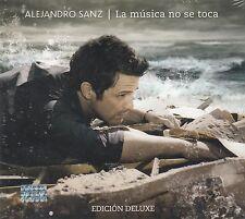 Alejandro Sanz La Musica No se Toca Edicion Deluxe CAJA DE CARTON CD+DVD New Nue