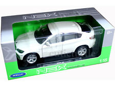 Welly Bmw X6 1:18 Diecast White 18031